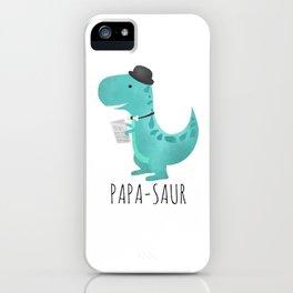 Papa-saur iPhone Case