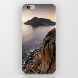Sunset view from Chapman's Peak drive in Cape Town, South Africa iPhone Skin