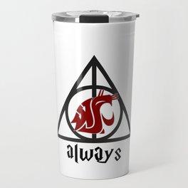 Go Cougs Travel Mug