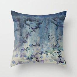 Echo of a Storm Throw Pillow