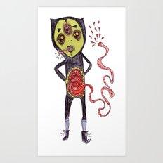 Gastric bypass DEMON Art Print