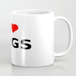 I LOVE HUGS Coffee Mug
