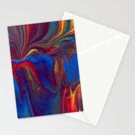 Paint Pouring 13 Stationery Cards