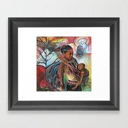 Sacred Wisdom Framed Art Print