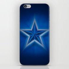 Blue Star iPhone & iPod Skin