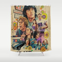 Dazed and confused 1993 Shower Curtain