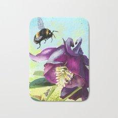 Bee flying 14 Bath Mat