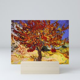 Vincent Van Gogh Mulberry Tree Mini Art Print