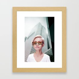 Futurischick Framed Art Print