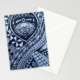 Tribal style art Stationery Cards