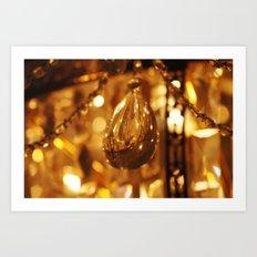 Crystal Light Art Print