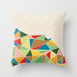 Triangle Heap Throw Pillow