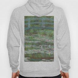 Claude Monet The Japanese Footbridge 1899 Painting Hoody