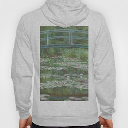Claude Monet The Japanese Footbridge 1899 Painting Hoody