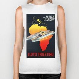 Africa To Europe Biker Tank