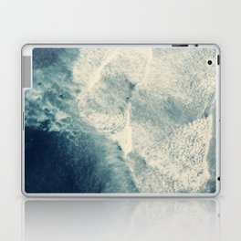 Ice Blue Surf Laptop & iPad Skin