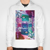 holographic Hoodies featuring bubble cats going to the taco dome by STORMYMADE