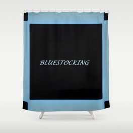 Bluestocking Shower Curtain