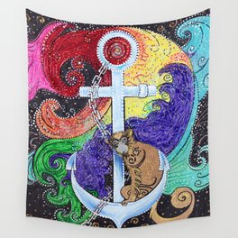 Monkey Sea Wall Tapestry