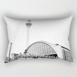 Berlin Alexandraplatz Rectangular Pillow