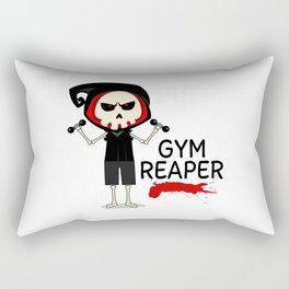 Gym Reaper | Fitness Grim Reaper Training Rectangular Pillow