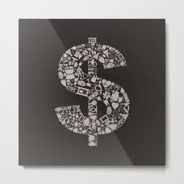 Medicine dollar Metal Print