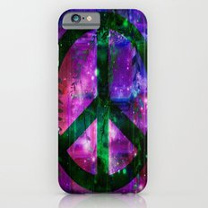 Peace symbol and infused colors iPhone 6s Slim Case