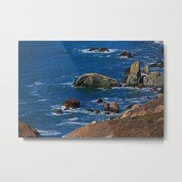 Muir Beach Overlook IV Metal Print