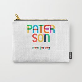 Paterson New Jersey Mid Century, Pop Art, Carry-All Pouch