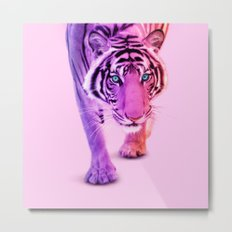 COLOR TIGER Metal Print