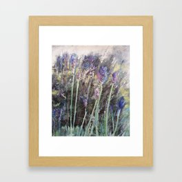 Lavender Blue 2 Framed Art Print