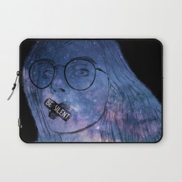 Anxiety Series: Be Silent in Your Suffering. Laptop Sleeve