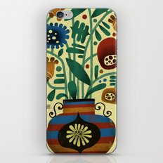 FLOWER ARRANGEMENT iPhone & iPod Skin