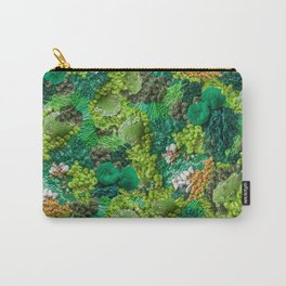 Moss Cluster Carry-All Pouch