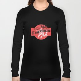 Warbird Girls Logo  Long Sleeve T-shirt