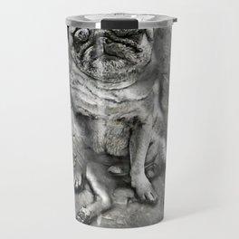 Pug in Carbonite Travel Mug