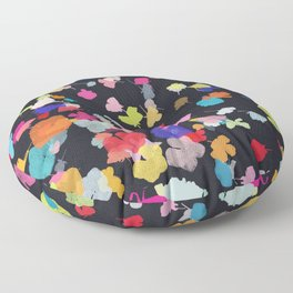 pressed flowers 2 Floor Pillow