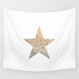GOLD STAR Wall Tapestry