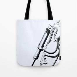 Arm of Bleach Industrial Digger Tote Bag