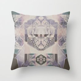 Filament   Throw Pillow