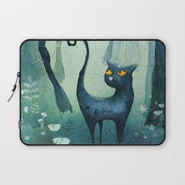 Cat in the forest Laptop Sleeve