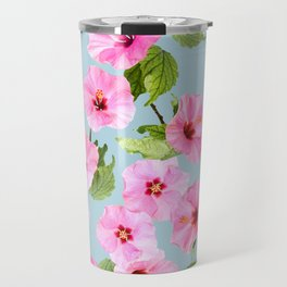 Ibiscus Dance Travel Mug