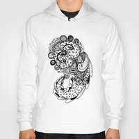 paisley Hoodies featuring Paisley by Flavia Caponi