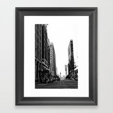 Downtown Tulsa  Framed Art Print