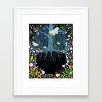 velvet underground Framed Art Prints featuring Underground by Danse de Lune