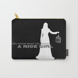 You Need A Nice Girl, Winter Things Carry-All Pouch