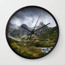 Under the peak Wall Clock
