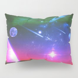 Cosmic Network Pillow Sham