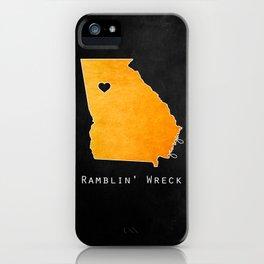 Ramblin' Wreck iPhone Case