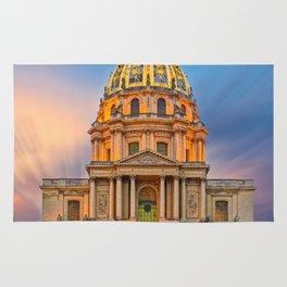 Dome church in Paris Rug